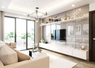 Cách bố trí không gian nội thất cho phòng khách chung cư trở nên đẹp hơn