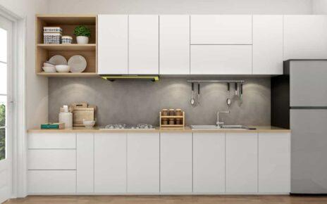 Những mẫu tủ bếp đã làm tôn vẻ đẹp của không gian bếp nhà bạn