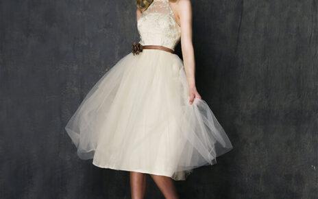 Trang phục váy cưới mini sẽ như thế nào trong thời gian sắp tới?